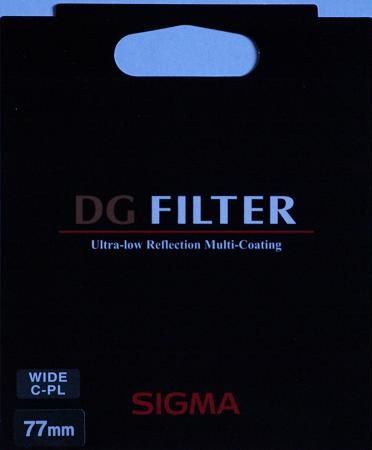 Sigma 77mm EX DG Digitally Optimised Circular Polarizer Filter