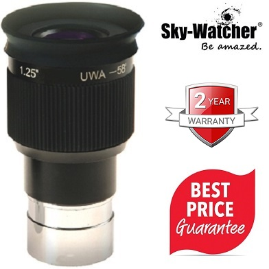 Skywatcher 7mm Planetary 58 Degree UWA 1.25 Inch Eyepiece