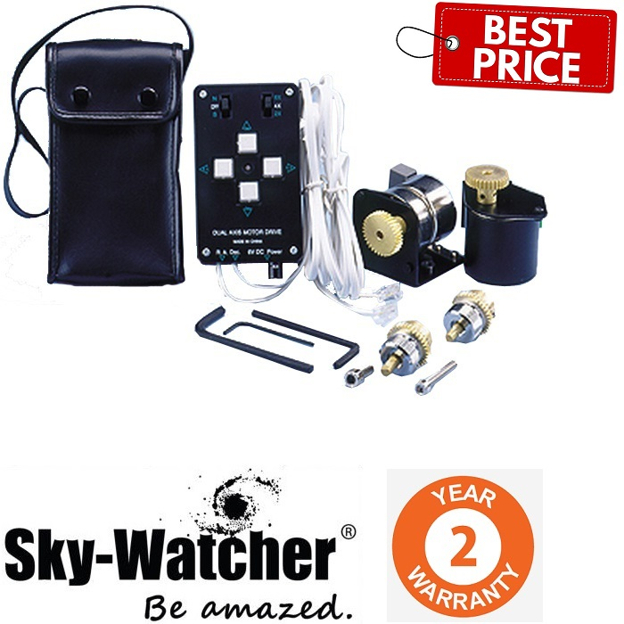 SkyWatcher Dual-Axis Motor Drive For EQ-5 Mount With Handset