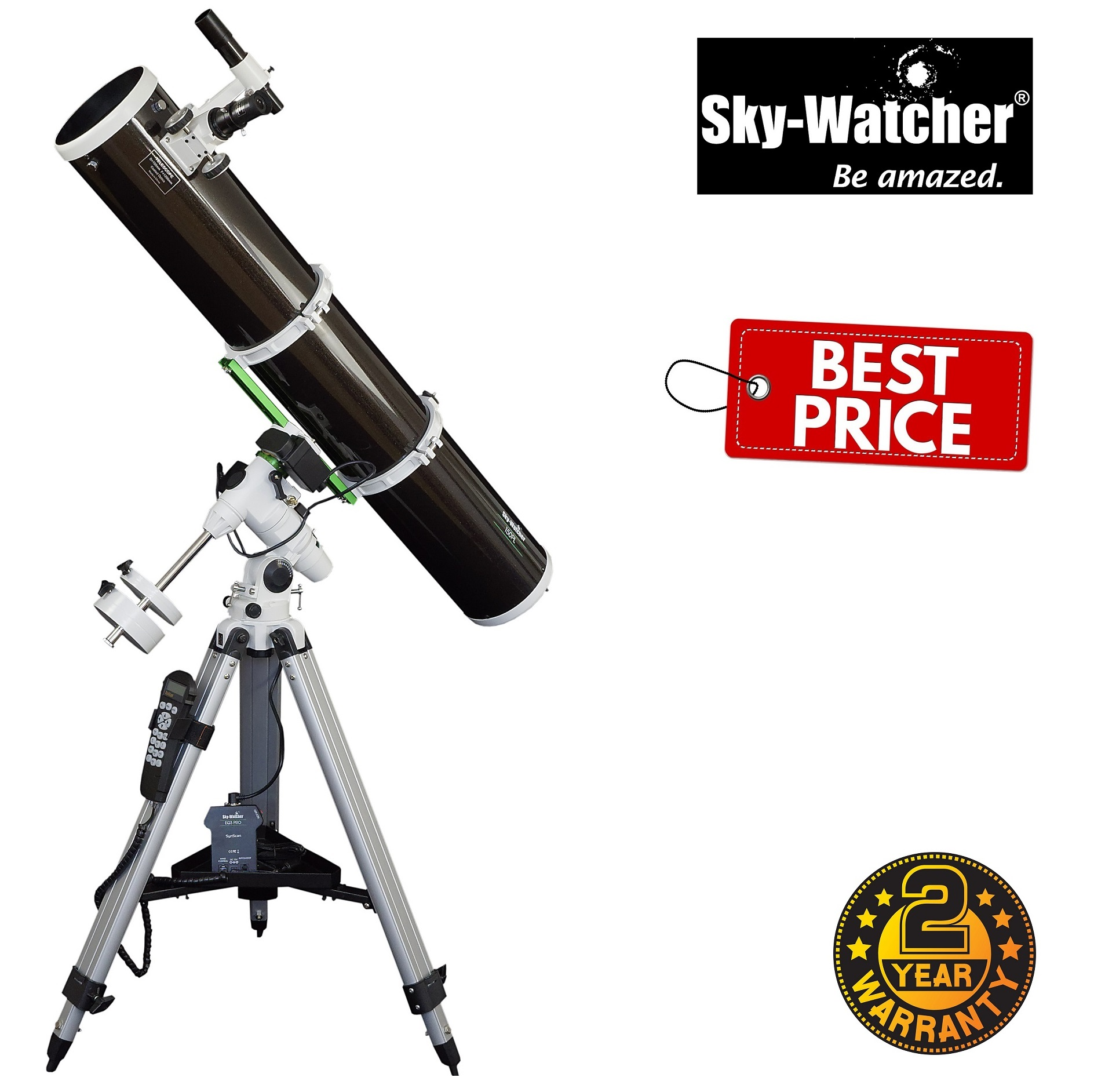 Skywatcher Explorer-150PL EQ3 Pro Reflector Telescope