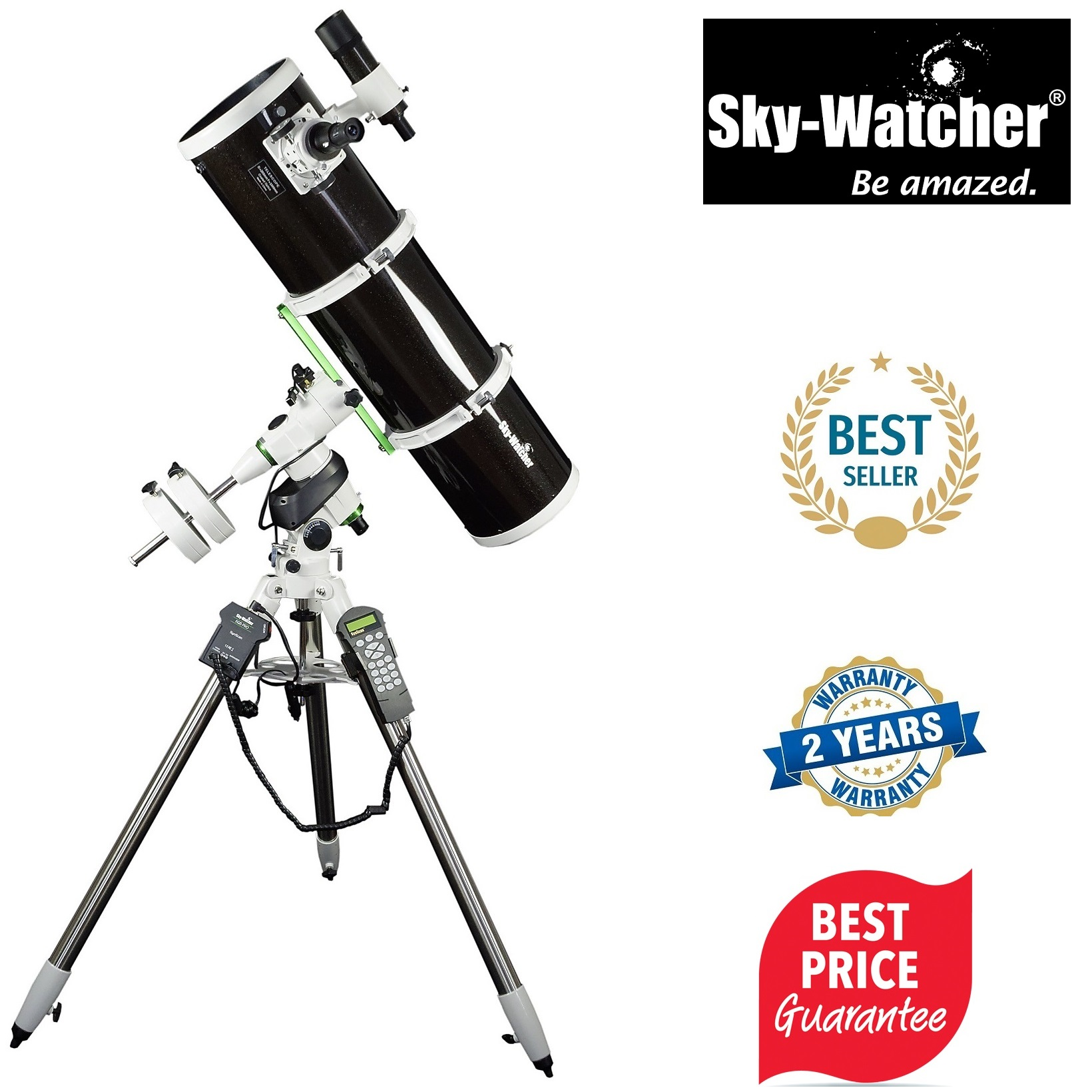 Skywatcher Explorer-200P EQ5 Pro Computerized Reflector Telescope
