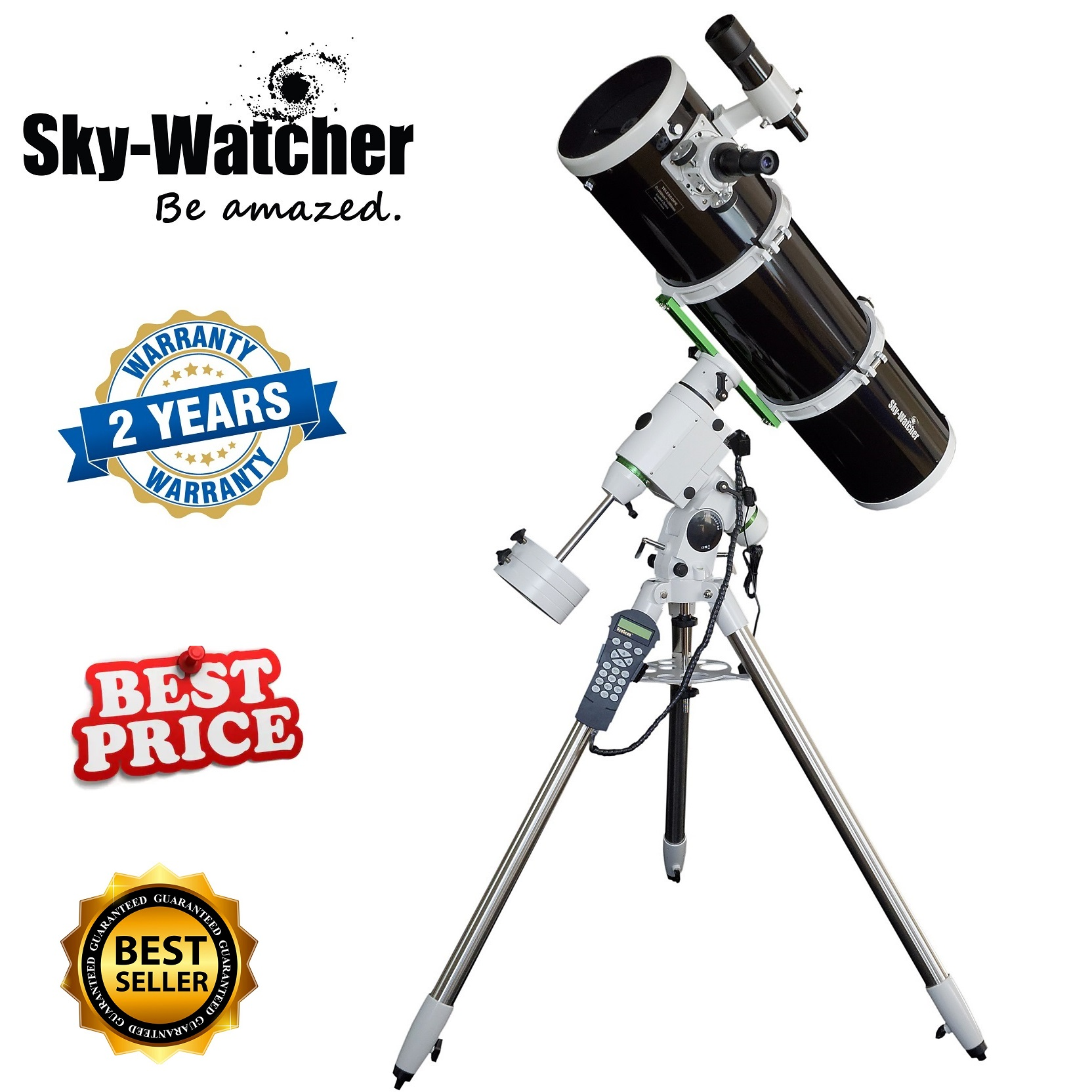 Skywatcher Explorer 200p Heq5 Motorized Reflector