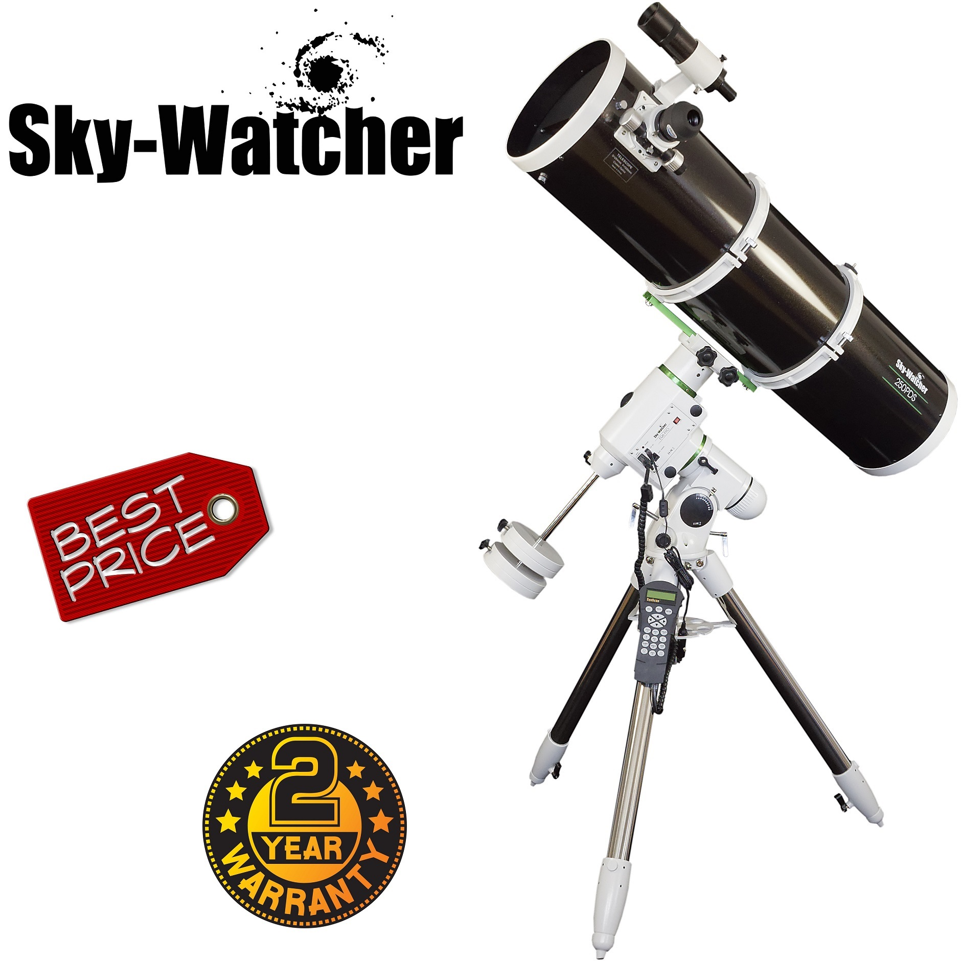 Skywatcher Explorer 250PDS EQ6 Pro Newtonian Telescope