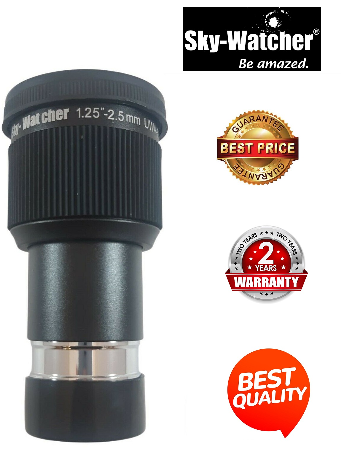 Skywatcher 2.5mm Planetary 58 Degree UWA 1.25 Inch Eyepiece