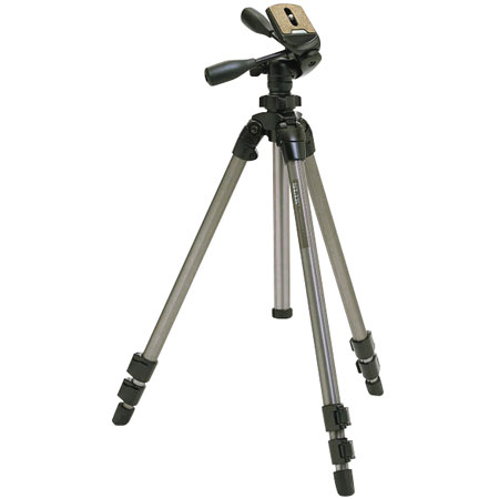 Slik Pro 500DX Tripod and Pan/Tilt Head with Quick Release