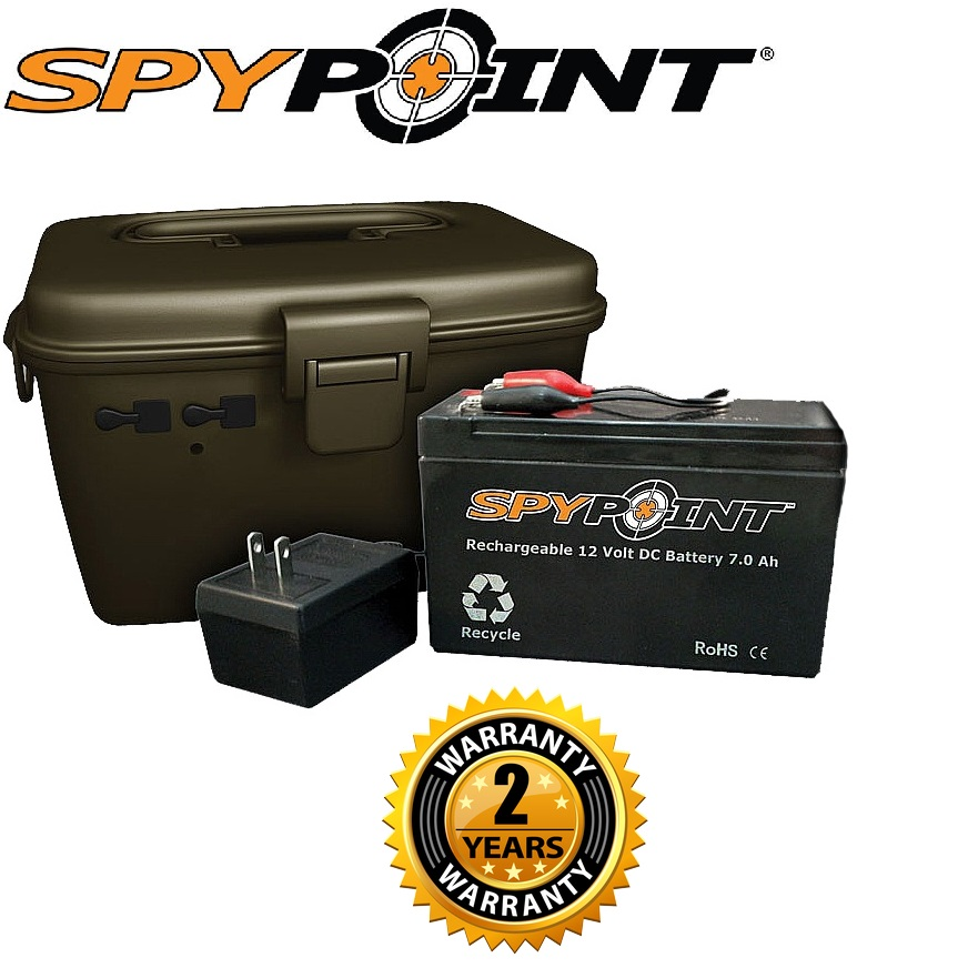 SpyPoint SP-KIT-12V External Battery Kit