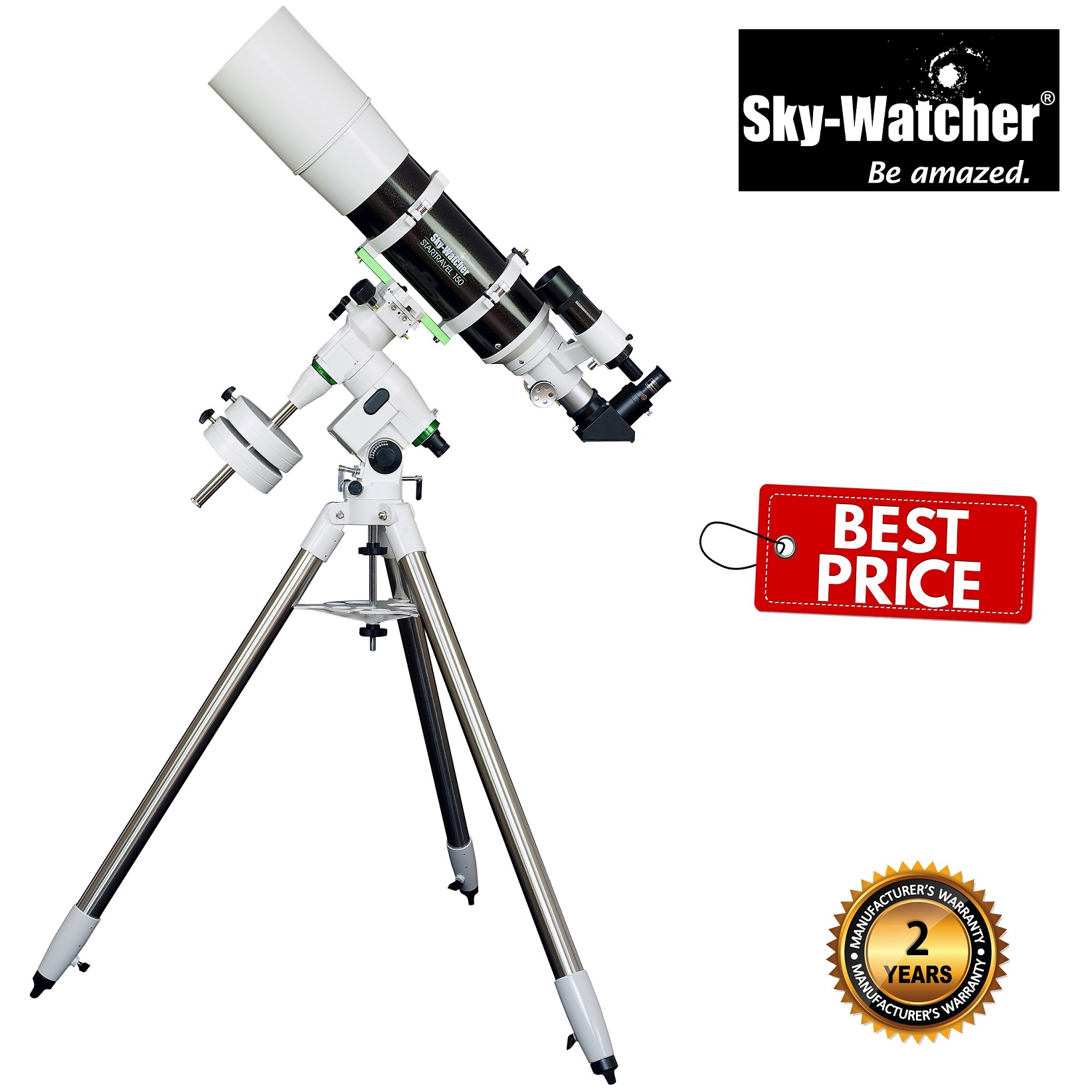 Skywatcher Startravel-150 EQ-5 Refractor Telescope