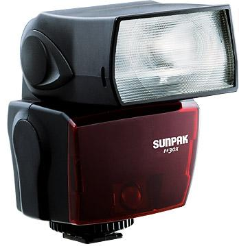 Sunpak PF30X TTL Shoe Mount Flash For Canon