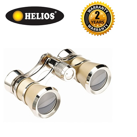 Helios 3x25 Symphony Champagne/Silver Opera Glasses