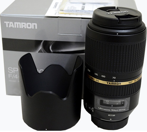 Tamron 70-300mm f4-5.6 Canon Fit  SP Di VC USD Lens
