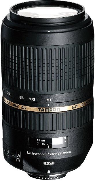 Tamron 70-300mm f4-5.6 SP Di VC USD Lens For Nikon