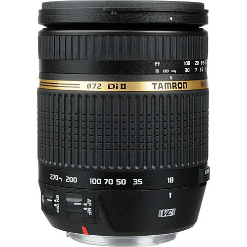Tamron 18-270mm F/3.5-6.3 Di II VC LD Asph-Macro Lens for Canon