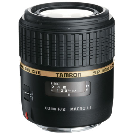Tamron SP 60mm F/2 Di II 1:1  Macro AF AF Lens for Canon EOS