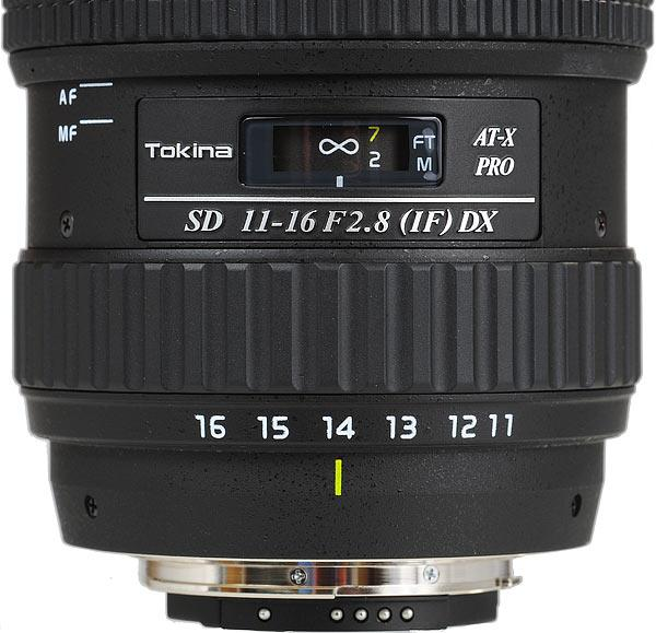 Tokina Pro AT-X 11-16mm F2.8 DX AF Wide Zoom Lens for Sony