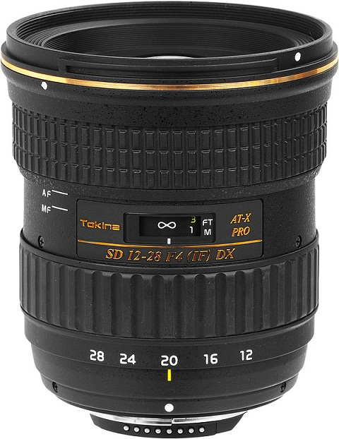 Tokina AT-X 12-28mm F4.0 AF Pro APSC Lens For Canon