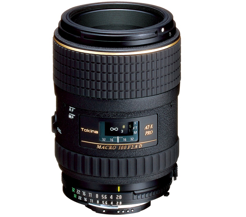 Tokina 100mm F2.8 AT-X PRO D Macro Lens Canon Fit