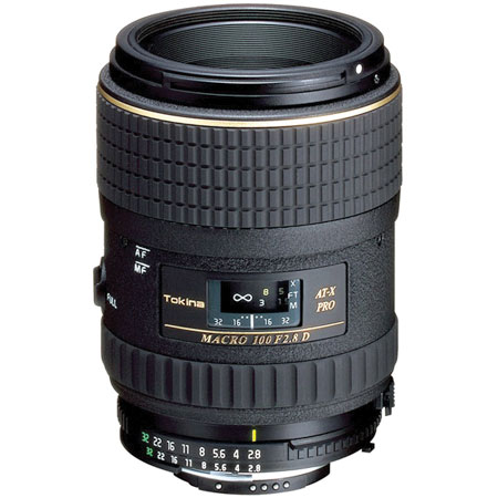 Tokina 100mm F2.8 AT-X PRO D Macro Lens for Nikon Digital Camera