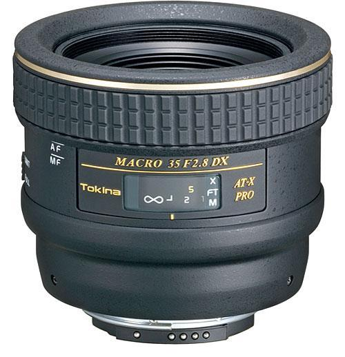 Tokina 35mm f2.8 DX Macro Lens for Canon DSLR