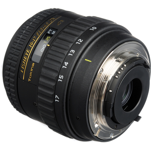 Tokina 10-17mm F3.5-4.5 AT-X FX Fisheye Lens for Nikon