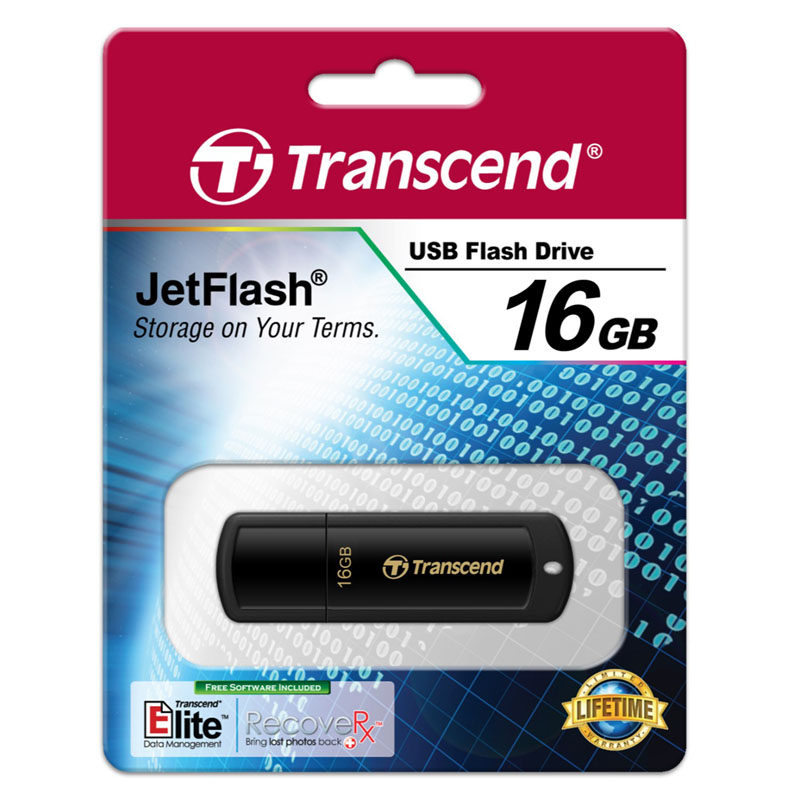 Transcend 16GB JetFlash-350 USB Flash Drive