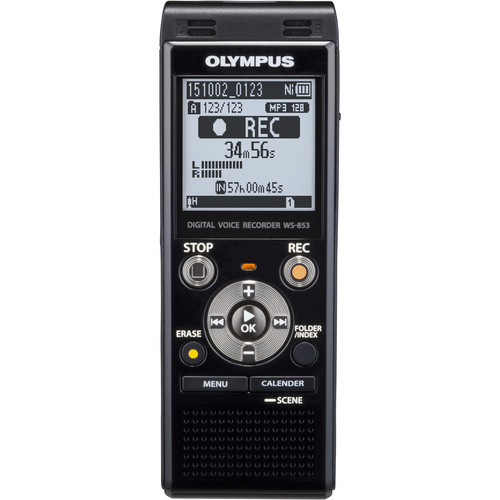 Olympus WS-853 8GB Digital Voice Recorder - Black