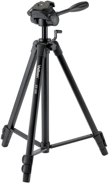 Velbon EX-530 Aluminium Tripod With PHD-56Q 3-Way Pan Head