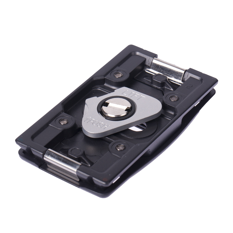 Velbon PHD-54Q 3-Way Head + Quick Release Plate