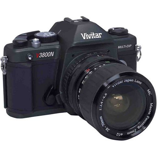 Vivitar SLR Film 35m Camera V3800N with 28-70mm Lens