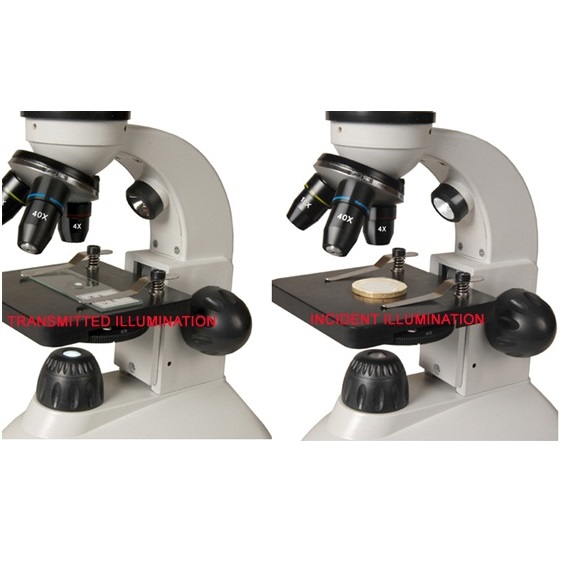 Zenith Scholaris-400 Dual Led Biological Inspection Microscope